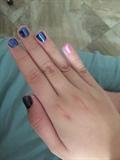 Galaxy Chrome Nail
