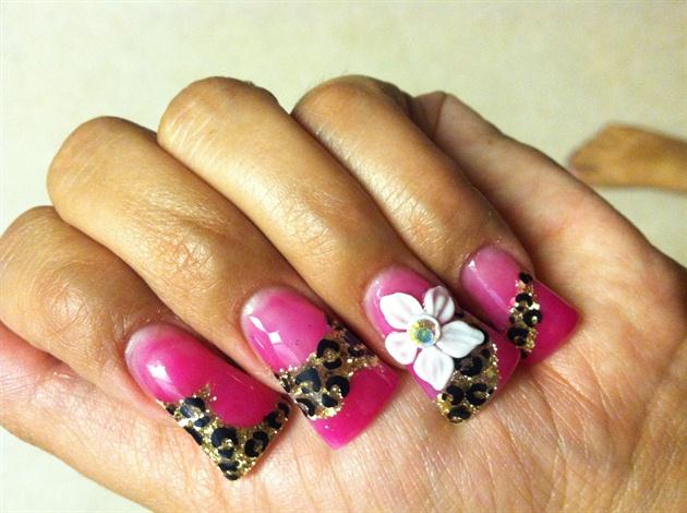 Hot Pink and cheetah