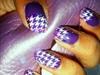 Springtime Purple Nails