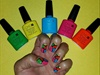 Multicolor Summer Nails
