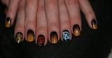 Hunger Games Inspired Nail Art