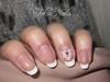 arabescque french manicure