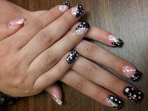 Sculpted Nails and nail art