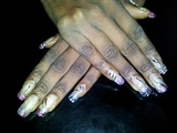 Acrylic Nail art and light nail art