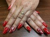 Nail Art Reds