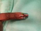 Acrylic Nail Art Sea Feel