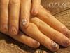 emboss flower nails