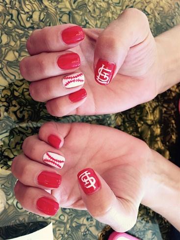 Stl Cardinals Nails Best Nail Designs 2018