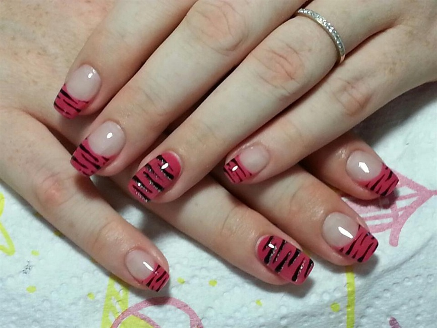Tiger stripes - Nail Art Gallery