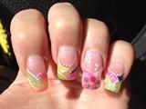 My summer fun nails