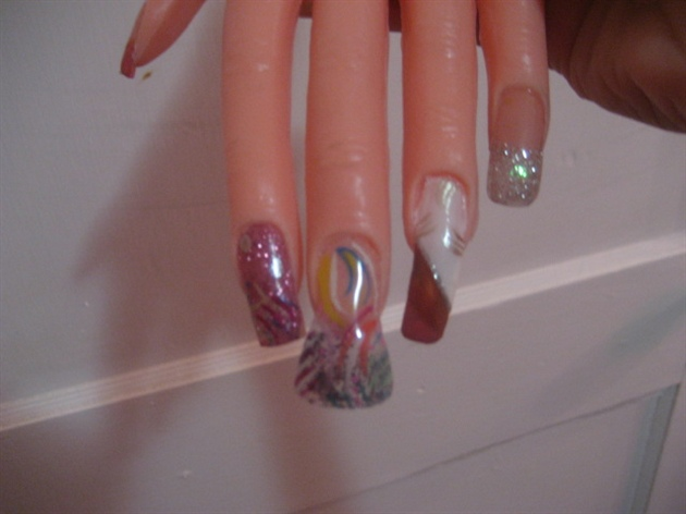More Designs And A Flare Nail