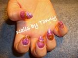 Purple/Gold/Pink Glitter