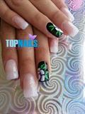 Floral Art Nails Desing