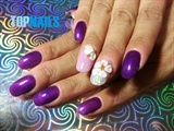 Floral Art Nails flower 3D