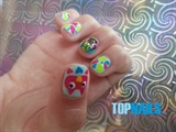 Acrylic Nails infant Print