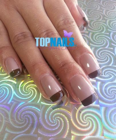 Acrylic Nail Enamel Traditional Bicolor