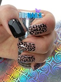 Acrylic Nails Animal Print Elegant