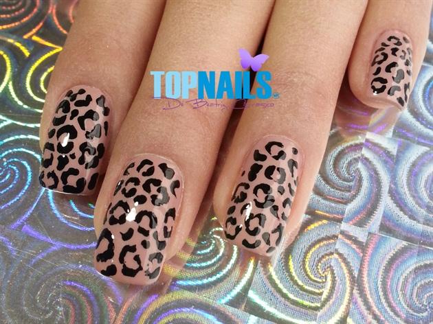 Acrylic Nails Animal Print Elegant