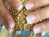 Acrylic nails Swarovski crystal