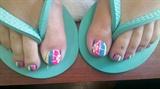 Beach ball toes