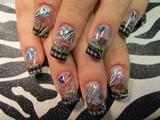 Ed Hardy nail tattoos