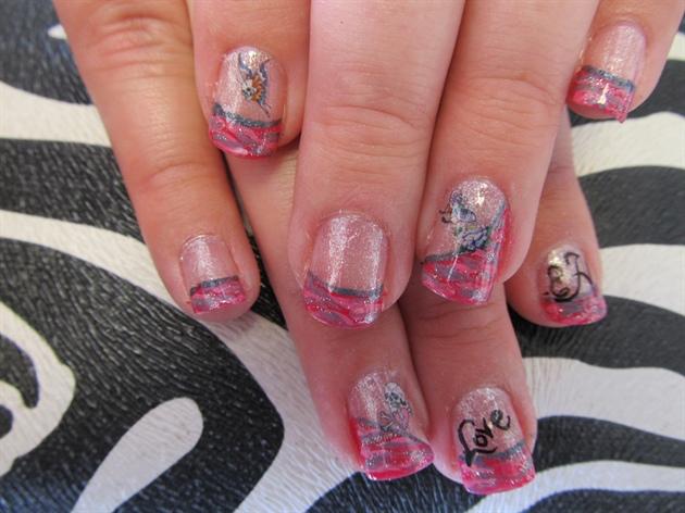 Ed Hardy manicure