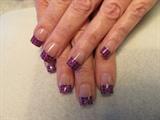 plaid pink n purple