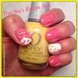 Lemon slices & polka dots
