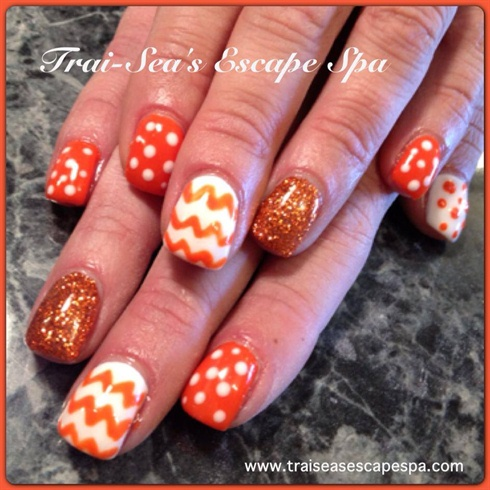 Orange designs