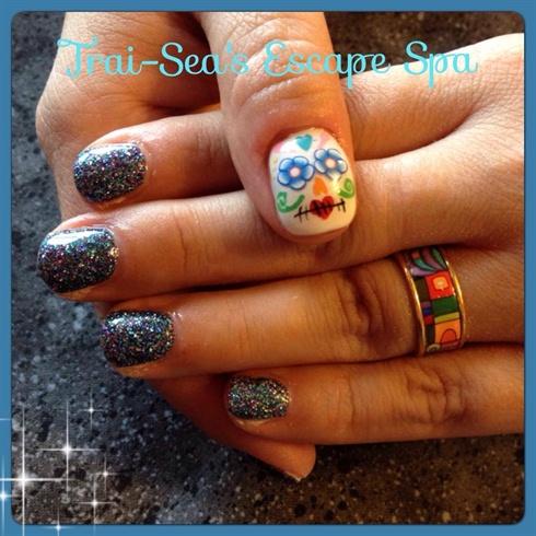 Sugar Skull - Hand Painted