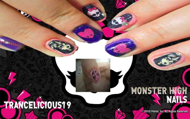 Monster High Nail Art Nail Art Gallery