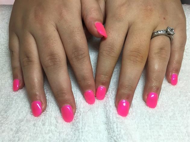 Neon Pink Gel