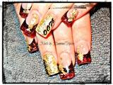 OO7 Skyfall Nails #2