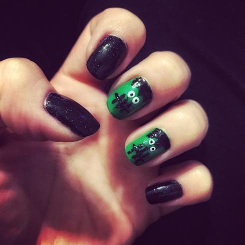 Frankenstein Nails