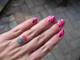 Hot Pink Zebra