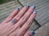 Turquoise and Opal Glitter