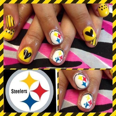 Steelers - Nail Art Gallery