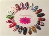 Christmas nail art wheel