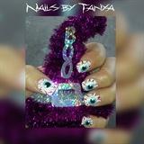 witch nails, eyeballs