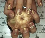 3d bow nail art