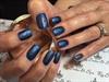 Gel rain drops water nail art