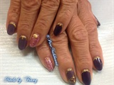 Trump Gel Purple and Gold