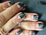 Galaxy Gel Nails
