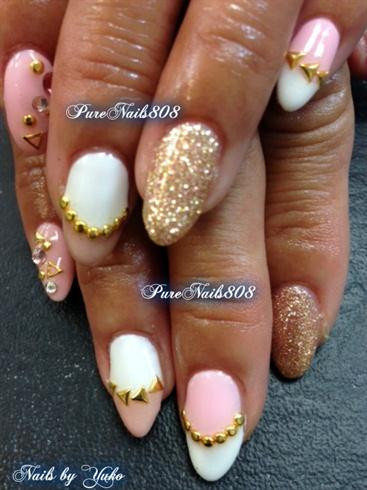 Trump Gel Design Nails