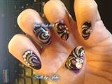 Spiral Galaxy Nails