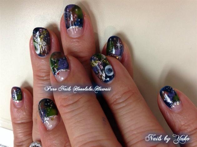 Galaxy Nails By Trump Gel Usa