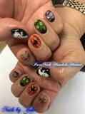 Halloween Nails by Trump Gel