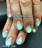 Turquoise Blue Nails
