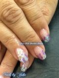 Spring TrumpGel USA Design with Flowers