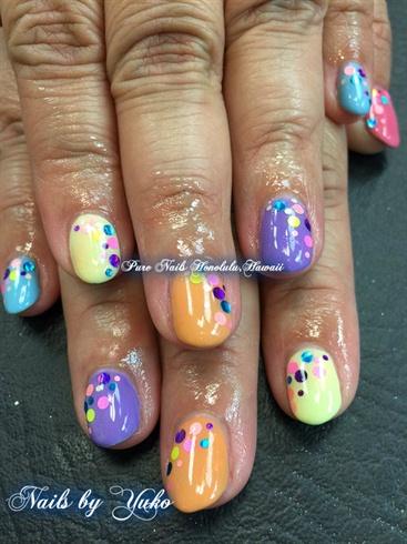 TrumpGel USA Spring Nails